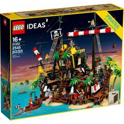 LEGO 21322 Piratas de Bahía Barracuda