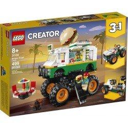 Lego 31104 Camioneta Monstruo de Hamburguesa