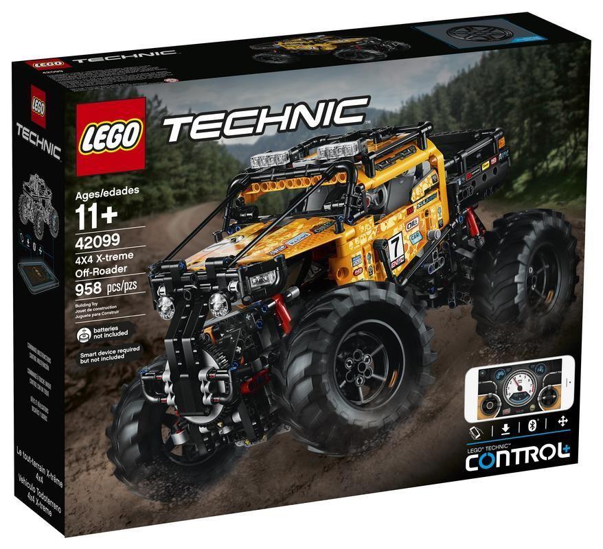 Lego 42099 Vehículo Todoterreno 4x4 X-treme