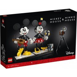 LEGO® Disney Princess? 43179 Personajes Construibles: Mickey Mouse y Minnie Mouse