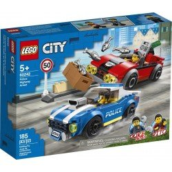 Lego 60242 Policía: Arresto en la Autopista