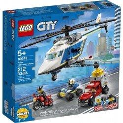 Lego 60243 Policía: Persecución en Helicóptero