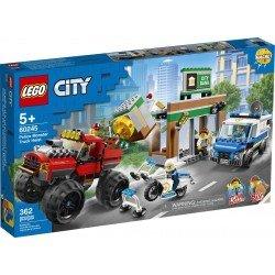 Lego 60245 Policía: Asalto de la Camioneta Monstruo