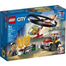 Lego 60248 Actuación del Helicóptero de Bomberos