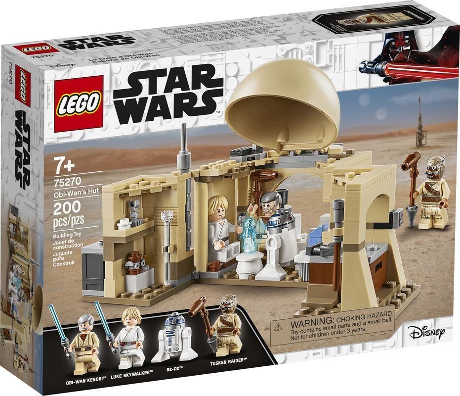 Lego 75270 Cabaña de Obi-Wan