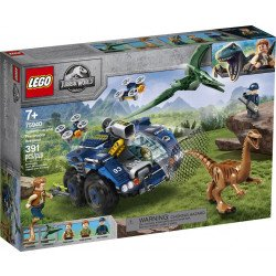 LEGO® Jurassic World™ 75940 Fuga del Gallimimus y el Pteranodon