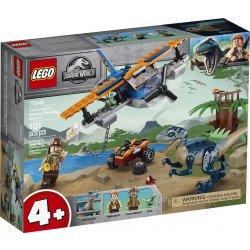 LEGO® Jurassic World™ 75942 Velocirraptor: Misión de Rescate en Biplano