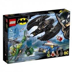 Batiplano de Batman? y el Asalto del Acertijo