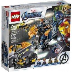 Lego 76143 Vengadores: Derribo del Camión