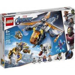 Lego 76144 Vengadores: Rescate en Helicóptero de Hulk