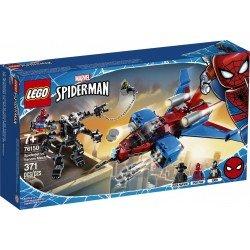 Lego 76150 Jet Arácnido vs. Armadura Robótica de Venom