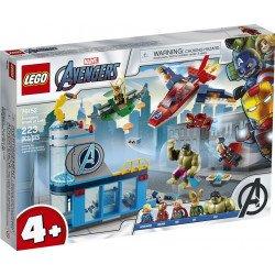 LEGO Marvel Avengers 76152 Vengadores: Ira de Loki