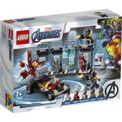 LEGO® Marvel Super Heroes 76167 Armería de Iron Man