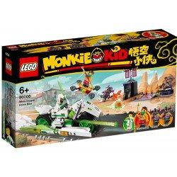 LEGO 80006 White Dragon Horse Bike